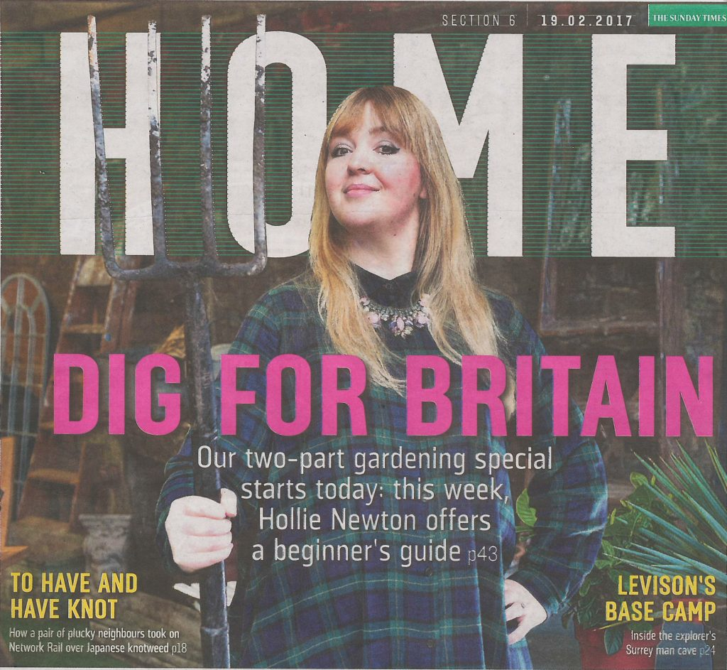 The Sunday Times A Beginners Guide To Gardening Hollie Newton