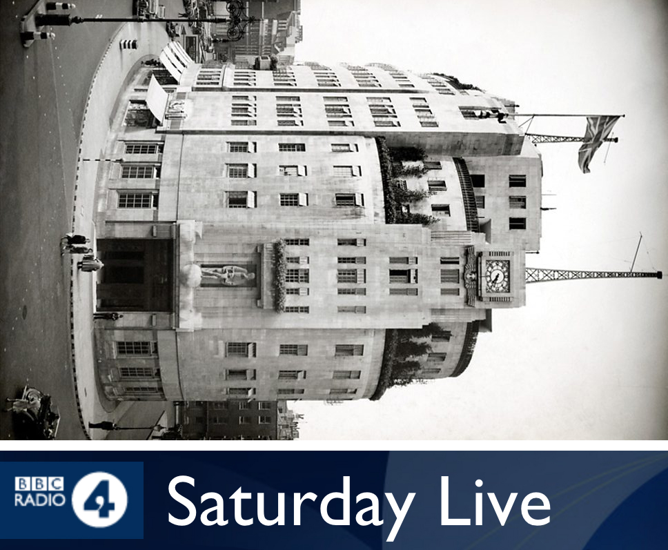 Saturday Live Appearance on BBC Radio 4