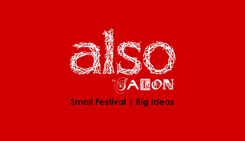Also Festival A talk in a tent