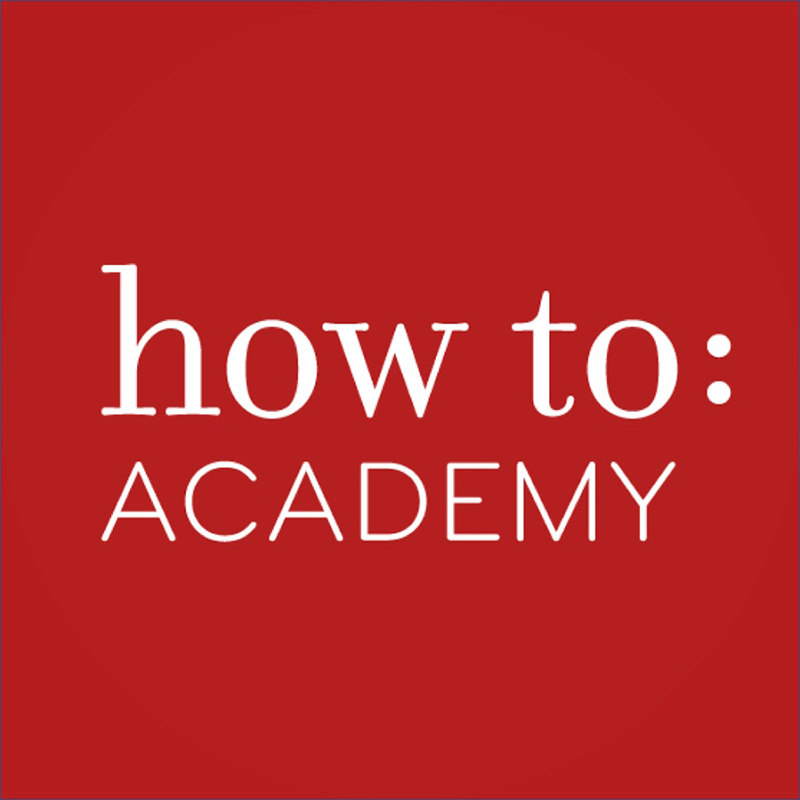 How To Academy a lecture at Condé Nast
